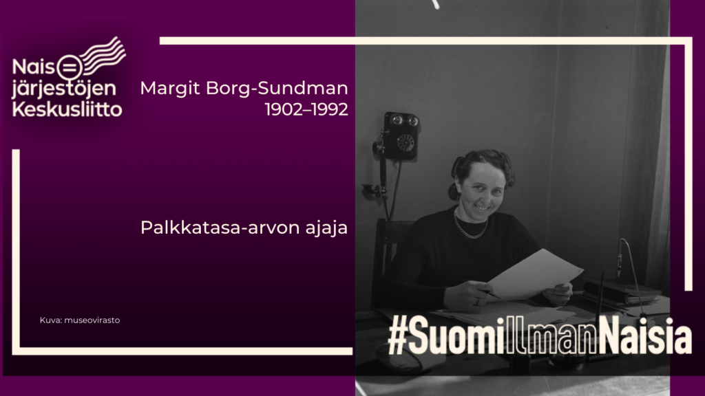 Margit Borg-Sundman